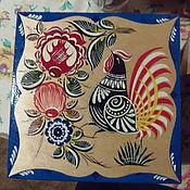 Для дома и интерьера handmade. Livemaster - original item The box is large, with four cells with the bird. Handmade.
