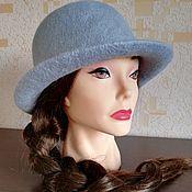 Аксессуары handmade. Livemaster - original item hat felted. Handmade.