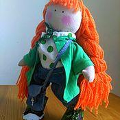 Куклы и игрушки ручной работы. Ярмарка Мастеров - ручная работа Кукла - Рыжеволоска. Handmade.