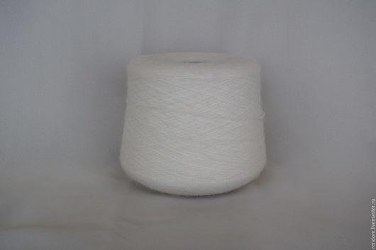 Вязание ручной работы. Ярмарка Мастеров - ручная работа. Купить Альпака с эластаном EXCALIBUR (Lineapiu). Handmade. Белый, альпака, молочный