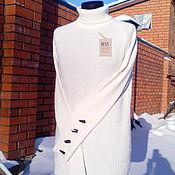 Одежда ручной работы. Ярмарка Мастеров - ручная работа Кашемировый свитер с пуговицами. Handmade.