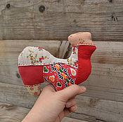 """Куклы и игрушки ручной работы. Ярмарка Мастеров - ручная работа Игрушка """"Лоскутный Петух"""". Handmade."""