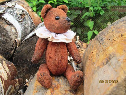 Мишки Тедди ручной работы. Ярмарка Мастеров - ручная работа. Купить Мишка тедди Бруно. Handmade. Коричневый, Плюшевый мишка