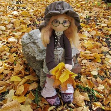 Куклы и игрушки ручной работы. Ярмарка Мастеров - ручная работа кукла текстильная Софи. Handmade.