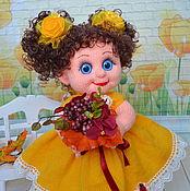 Куклы и игрушки ручной работы. Ярмарка Мастеров - ручная работа Кукла вязаная Августина. Handmade.