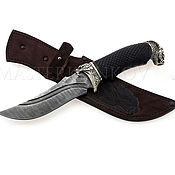 Сувениры и подарки handmade. Livemaster - original item The handmade damascus steel knife. Handmade.
