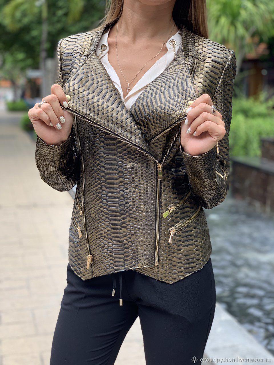 куртка из кожи питона женская фото радость жизни