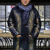 "Одежда ручной работы. Ярмарка Мастеров - ручная работа пальто валяное ""Лабрадор"". Handmade."