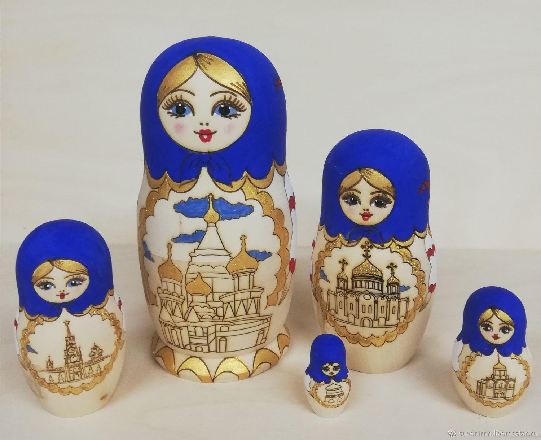 Матрешка Москвы, Матрешки, Вознесенское,  Фото №1