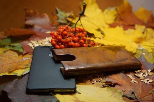 Для телефонов ручной работы. Ярмарка Мастеров - ручная работа. Купить Чехол (кофр) из натуральной кожи для сотового телефона ручной работы. Handmade.
