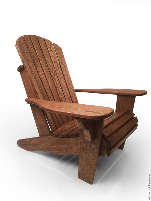 Садовое кресло Адирондак (Adirondack Chair Classic), RED OAK