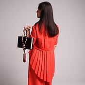 Сумки и аксессуары handmade. Livemaster - original item Brown velvet bag Style Melody. Handmade.