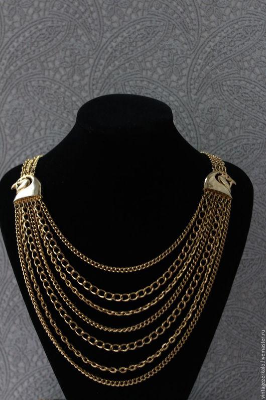Винтажные украшения. Ярмарка Мастеров - ручная работа. Купить 1950-60гг Lisner ожерелье  винтаж. Handmade. Винтаж, винтажное ожерелье