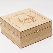 Сувениры и подарки handmade. Livemaster - original item The box is made of pine. Handmade.