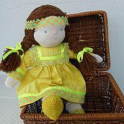 Куклы и игрушки ручной работы. Ярмарка Мастеров - ручная работа Кукла Света 39см. Handmade.