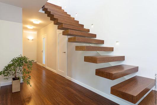 Мебель ручной работы. Ярмарка Мастеров - ручная работа. Купить лестница. Handmade. Лестница, архитектура, лестница в дом, столб заходной