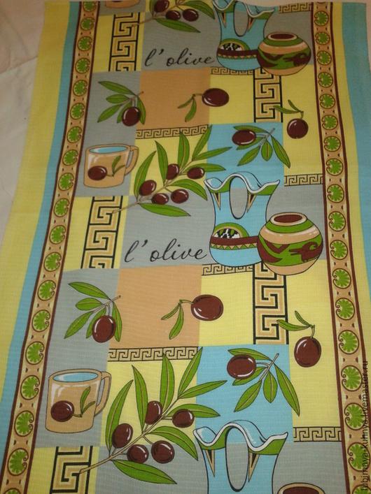Кухня ручной работы. Ярмарка Мастеров - ручная работа. Купить Кухонное полотенце Оливки. Handmade. Разноцветный, подарок на любой случай