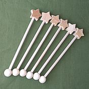 Работы для детей, handmade. Livemaster - original item Magic wand wooden unpainted. Handmade.