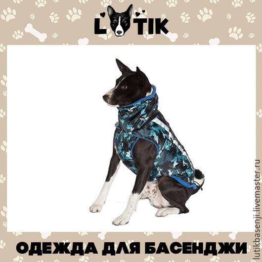 Одежда для собак, ручной работы. Ярмарка Мастеров - ручная работа. Купить Куртка утепленная Комуфляж. Handmade. Жилет, собаки