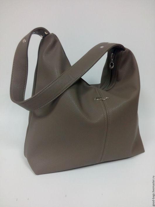 Женские сумки ручной работы. Ярмарка Мастеров - ручная работа. Купить Сумка-мешок. Handmade. Бежевый, сумка на каждый день