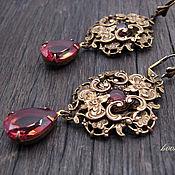 Украшения handmade. Livemaster - original item Set of earrings pendant