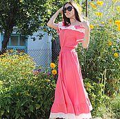 """Одежда ручной работы. Ярмарка Мастеров - ручная работа Шикарное,нежное платье""""Лето в разгаре"""". Handmade."""