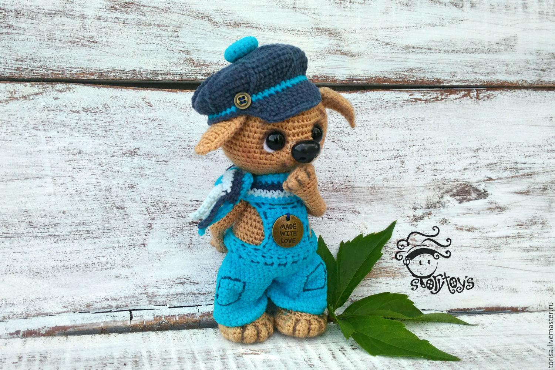 Puppy Kuzma toy, Stuffed Toys, Moscow,  Фото №1