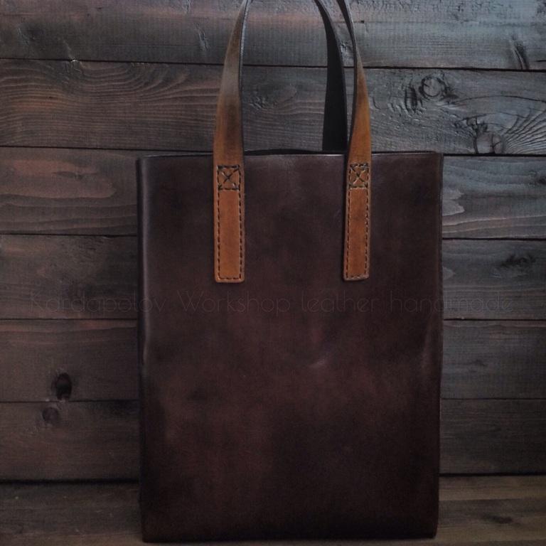 Женские сумки ручной работы. Ярмарка Мастеров - ручная работа. Купить Сумка  шоппер из натуральной ... 308b4eb79ea08