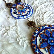 """Украшения ручной работы. Ярмарка Мастеров - ручная работа Колье-подвес"""" Марокканская весна"""". Handmade."""
