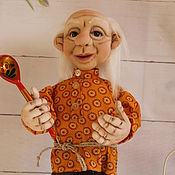 Куклы и игрушки handmade. Livemaster - original item Brownie Emelya. Handmade.