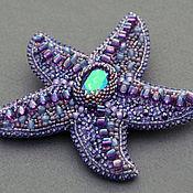 Украшения handmade. Livemaster - original item Large brooch starfish. Handmade.