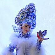 Куклы и игрушки ручной работы. Ярмарка Мастеров - ручная работа Кукла Снегурочка. Handmade.