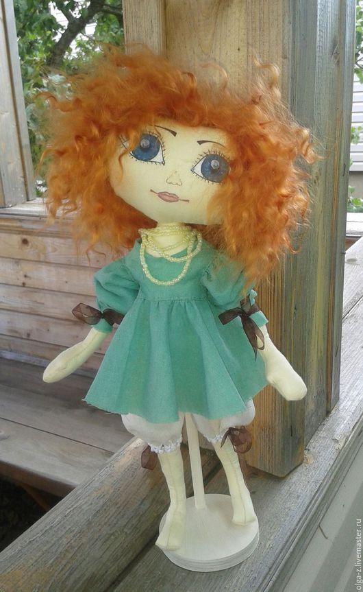 Коллекционные куклы ручной работы. Ярмарка Мастеров - ручная работа. Купить Рыжик.. Handmade. Комбинированный, кукла авторская, кукла интерьерная