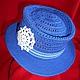 Шапки и шарфы ручной работы. Ярмарка Мастеров - ручная работа. Купить Шляпа Морской круиз для маленького джентельмена. Handmade. Синий