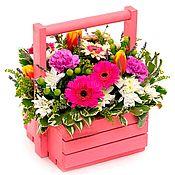Подарочные коробки ручной работы. Ярмарка Мастеров - ручная работа Ящики для цветов. Handmade.