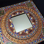 Для дома и интерьера ручной работы. Ярмарка Мастеров - ручная работа Зеркало интерьерное А reflection of the joy. Handmade.