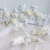 Свадебный салон ручной работы. Ярмарка Мастеров - ручная работа Комплект украшений для невесты. Handmade.