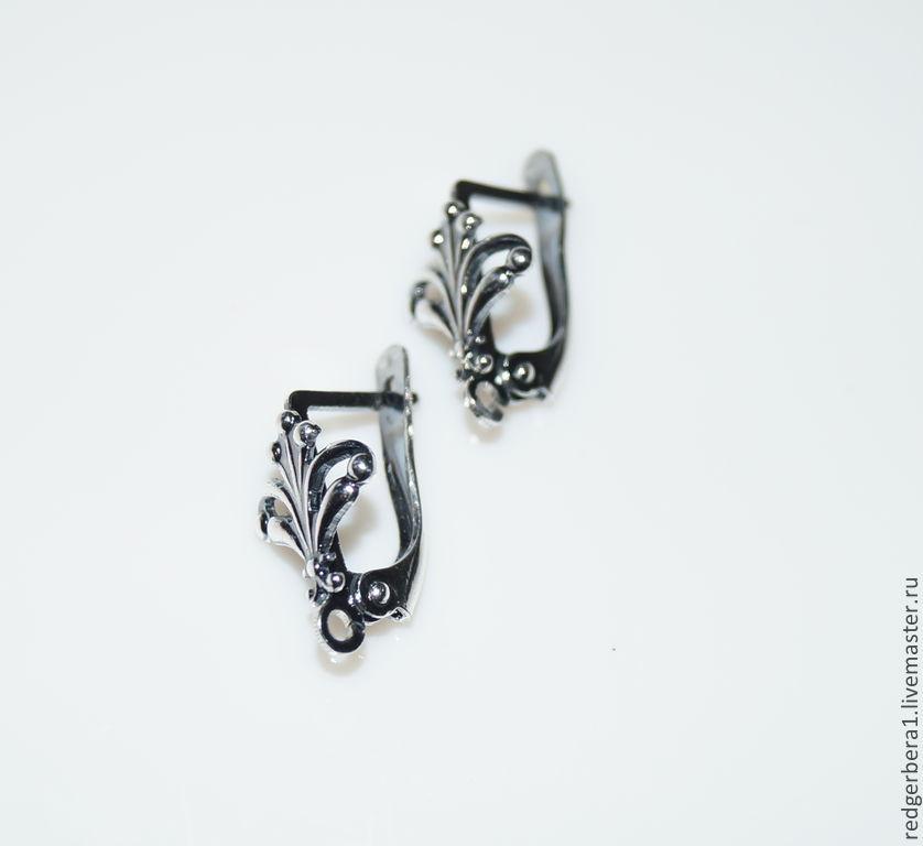 Earrings 'Lucia' - silver 925, Schwenzy, Kostroma,  Фото №1