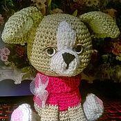 Куклы и игрушки ручной работы. Ярмарка Мастеров - ручная работа Собачка Чихуахуа девочка в подарочной коробочке. Handmade.