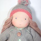 """Куклы и игрушки ручной работы. Ярмарка Мастеров - ручная работа Девочка """"Ладушка"""" вальдорфская 42 см. Handmade."""