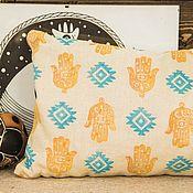 Для дома и интерьера handmade. Livemaster - original item Pillow - Sasha cedar