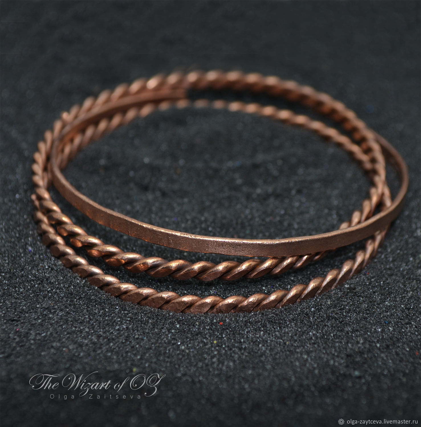 stacking listing bangle hammered il pure copper bangles thin bracelet fullxfull