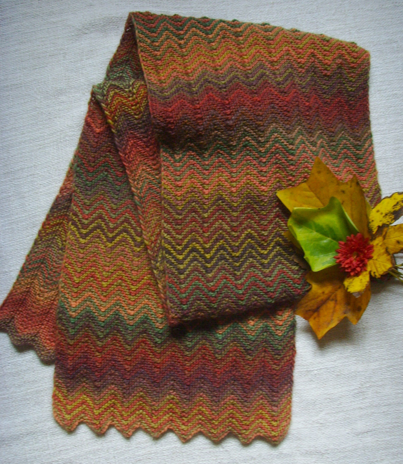 Scarf 'Autumn colors', Scarves, Dresden,  Фото №1