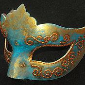 """Одежда ручной работы. Ярмарка Мастеров - ручная работа маска """"Бирюза"""" карнавальная. Handmade."""
