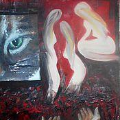 """Картины и панно ручной работы. Ярмарка Мастеров - ручная работа """"Бдительность Отстраненность Желание"""". Handmade."""