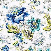Материалы для творчества ручной работы. Ярмарка Мастеров - ручная работа Портьерная ткань 280 см 100% хлопок цветы Франция. Handmade.