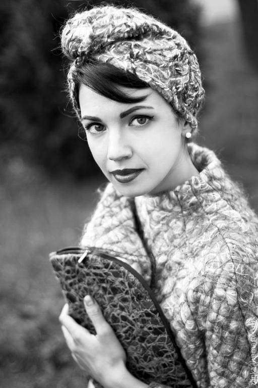"""Шляпы ручной работы. Ярмарка Мастеров - ручная работа. Купить Чалма """"""""Crazy-wool""""  из коллекции """"Эхо"""". Handmade. Разноцветный, акрил"""
