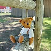 Куклы и игрушки ручной работы. Ярмарка Мастеров - ручная работа Авторский мишка Роберт. Handmade.