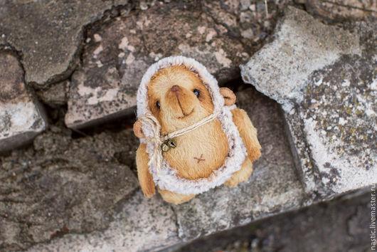 Мишки Тедди ручной работы. Ярмарка Мастеров - ручная работа. Купить ёжик мечтает. Handmade. Белый, искусственный мех