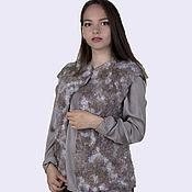 Одежда handmade. Livemaster - original item Felt vest